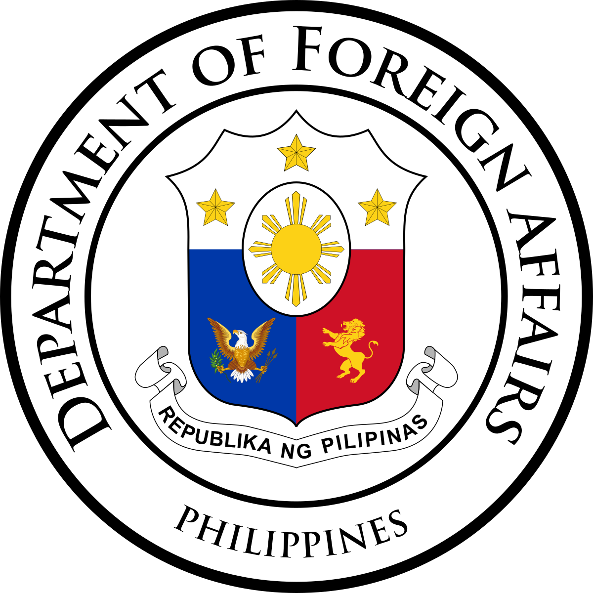 Republic of Philippines Department of Foreign Affairs