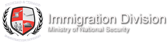 Immigration Division Ministry of National Security